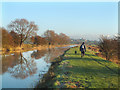 TQ9832 : The Royal Military Canal in Winter by Ronald G Nash
