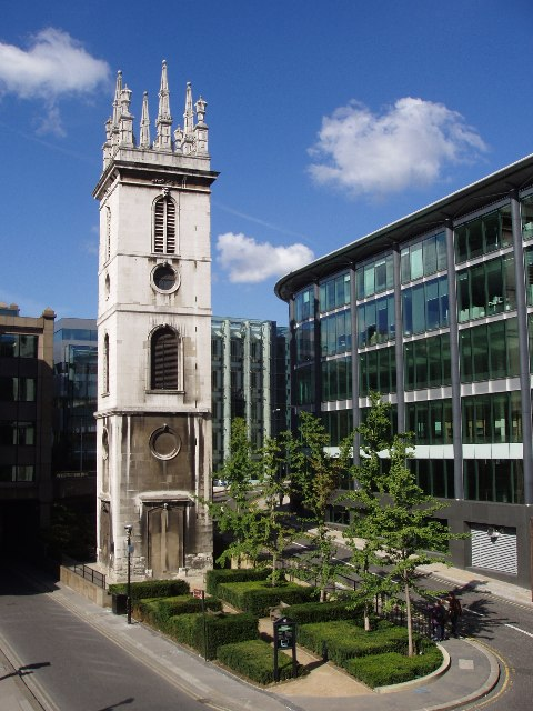 Tower of St Mary Somerset, Upper Thames Street