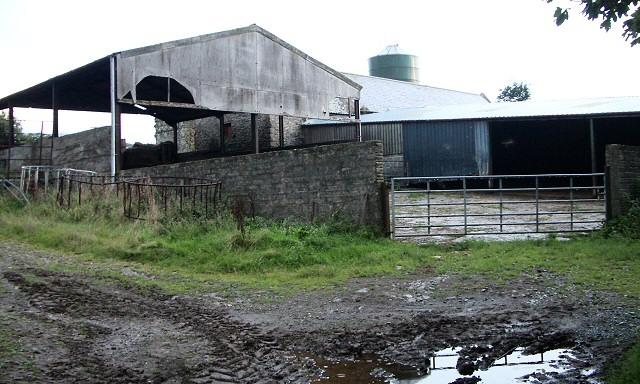 Farm buildings at Treriffith