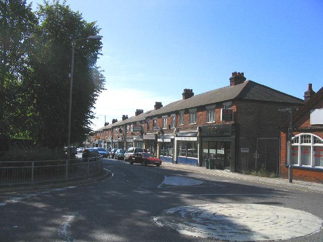 Kings Road shops, Brentwood