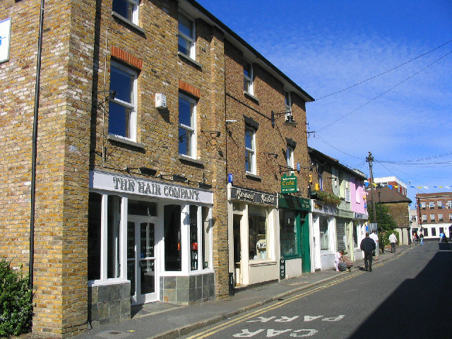 Crown Street shops, Brentwood