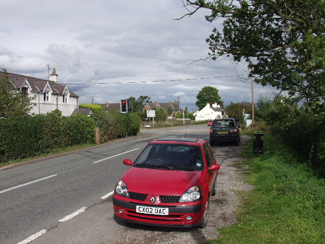 Cross Lanes near Bangor-is-y-coed