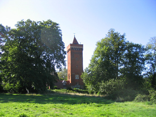 The Water Tower, Warley Mental Hospital, Essex