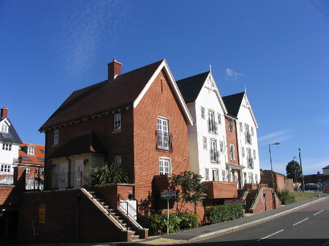 New housing development, Chatham Way off Kings Road, Brentwood