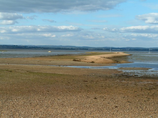Sinah Sands and Lake, Langstone Harbour