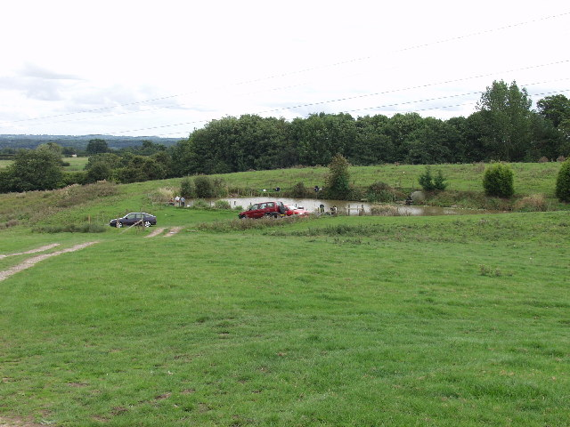 Fishing Pond on Lon Bwgan-ddu