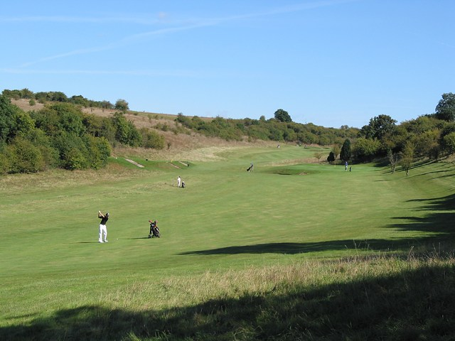 Hockley Golf Course looking NE from footpath