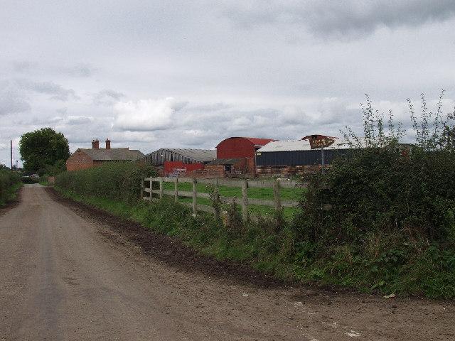 Clay Pits Farm at Stryt-yr-hwch