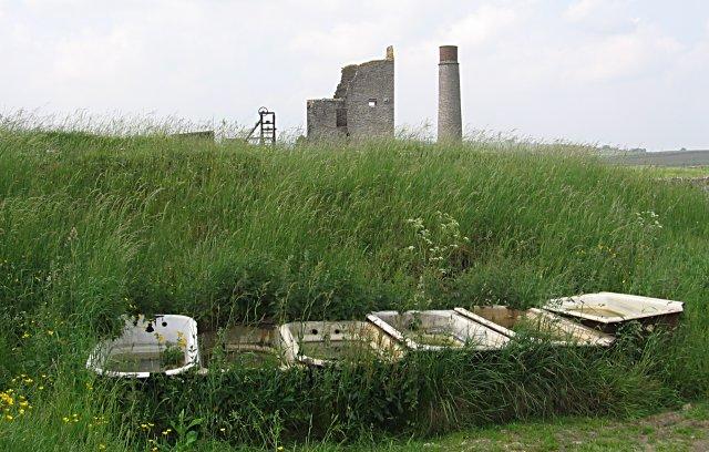 Baths at Magpie Mine