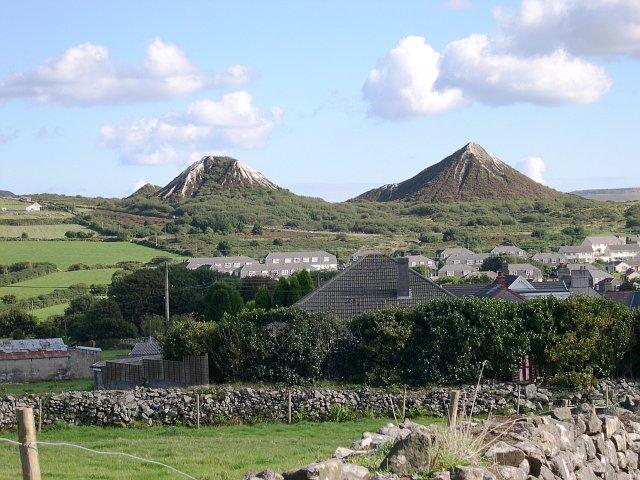 View over St Dennis Village