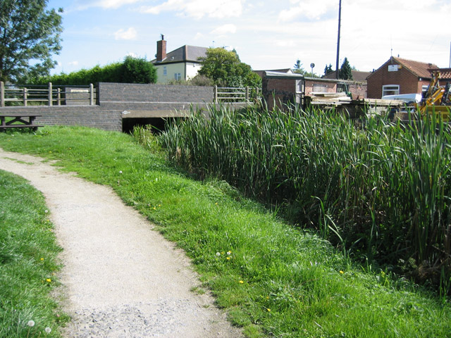 Grantham Canal, Harby