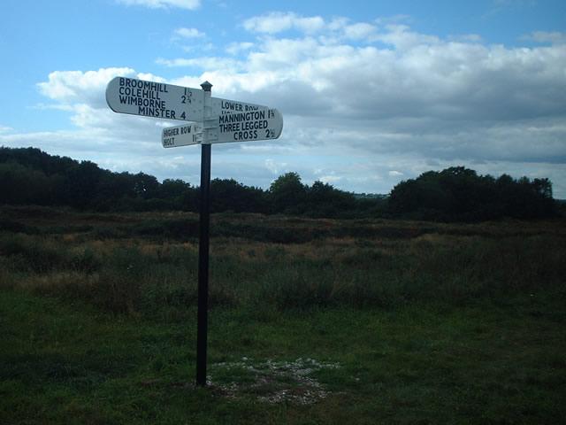 Crossroads at Higher Row, Holt Heath