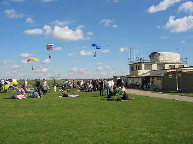 British Parachute School, Langar Airfield