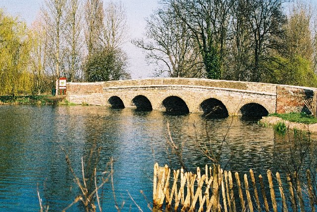 Five Arch Bridge, River Cray, Sidcup, Kent
