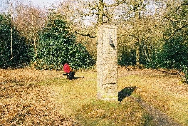 William Willett's memorial, Petts Wood, Chislehurst, Kent