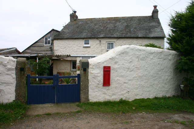 The Post Box on the white wall