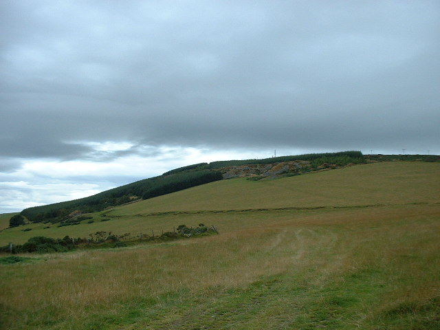 Spoil Heaps on Hill of Foudland