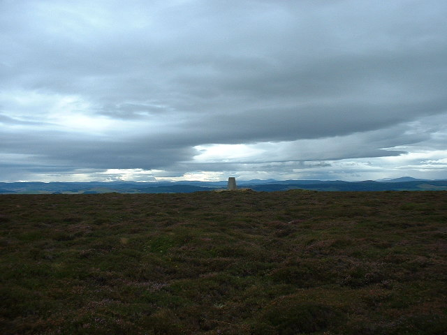 Trig Point on Hill of Foudland