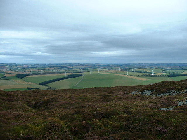Glens of Foudland Wind farm