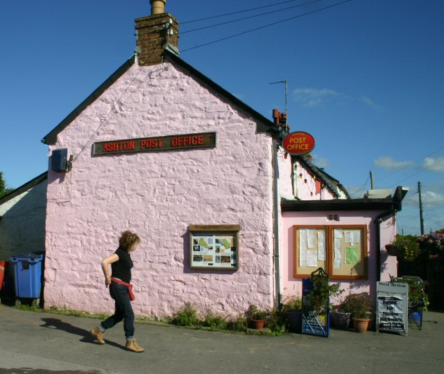 The Pink Post Office