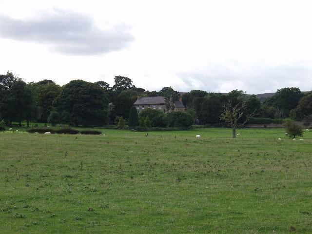 Farmland ESE of Llanerchrugog Hall at Rhosllanerchrugog