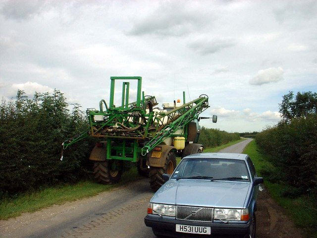 Crop Spraying Machine