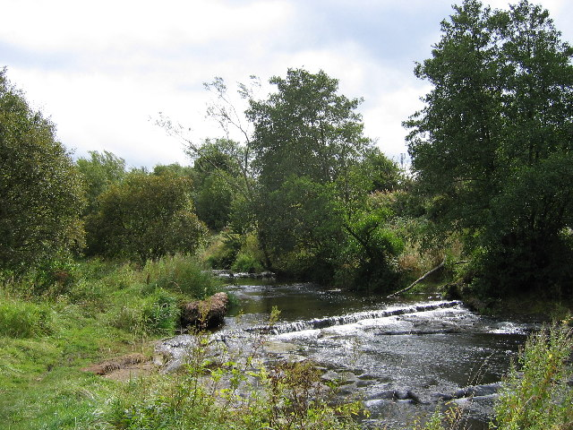 River Luggie at Waterside, near Kirkintilloch