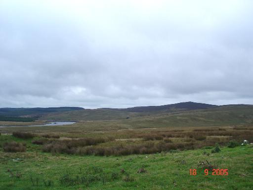 Near Pont Clogwyn