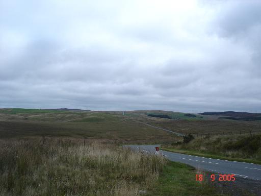 Road through Bwlch Gwyn