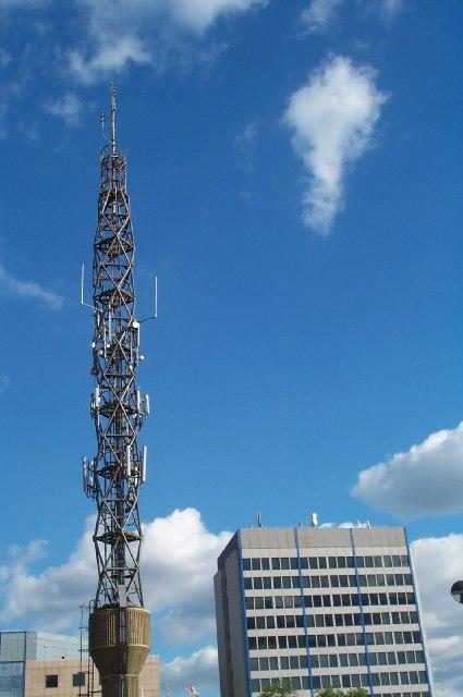 Radio Mast next to Canada Life House