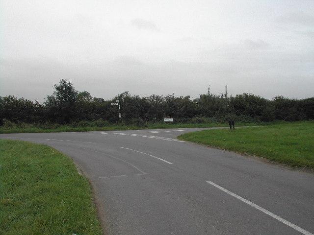 Junction of Kinouton Lane and Swab's Lane