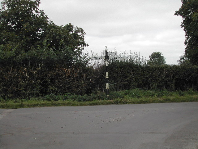 Junction of Spring Hill and New Road, Colston Bassett