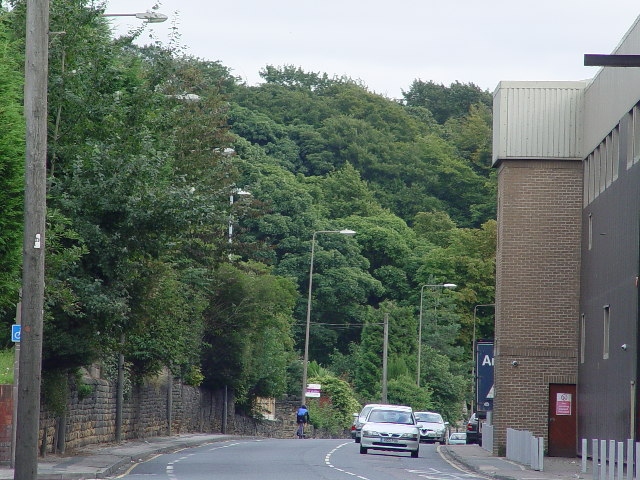 Mills on the A644