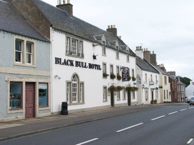 Black Bull Hotel, Lauder