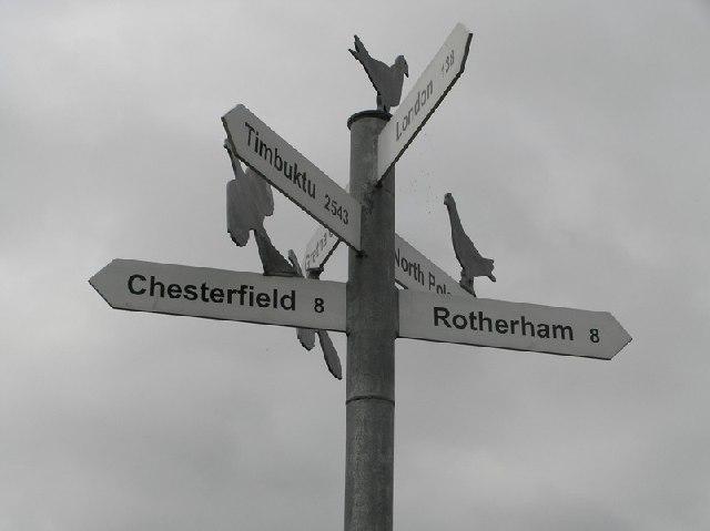 Signpost, Halfway