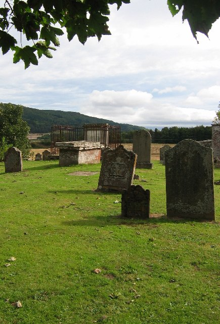 Burial Ground Dunbarney House