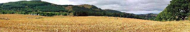 Gowk's Den panorama