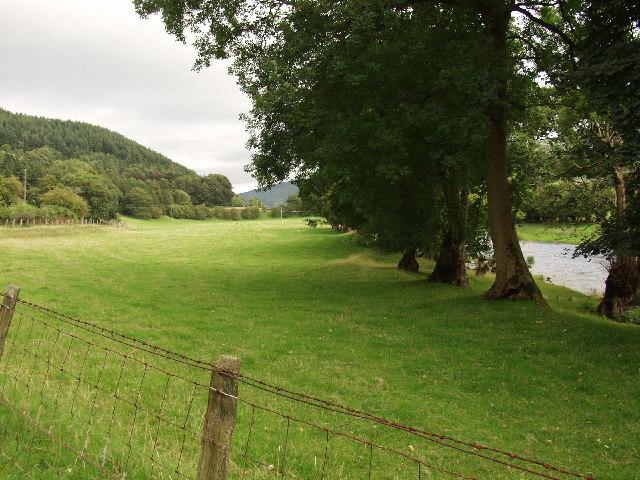 Afon Dyfrdwy just east of Carrog