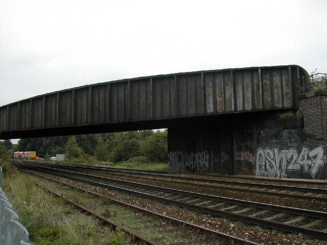 Rail Bridge over a railway