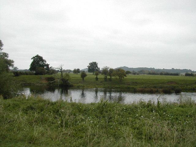 The Trent towards Barton in Fabis
