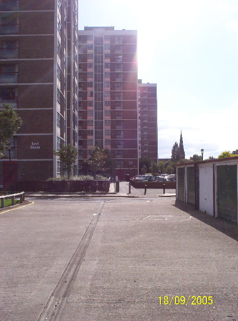 Tower Blocks at Shieldfield