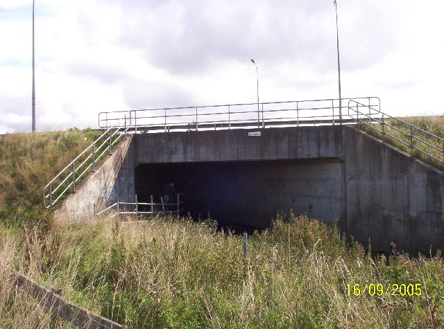 Culvert under A1 Western Bypass