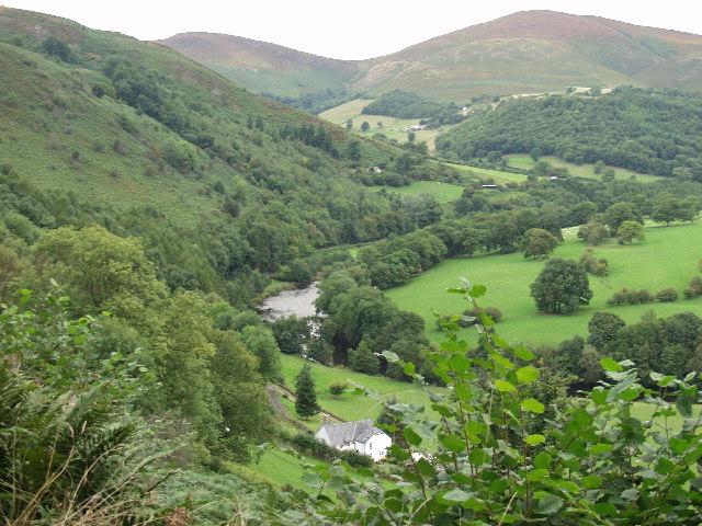 Afon Dyfrdwy at Groeslwyd