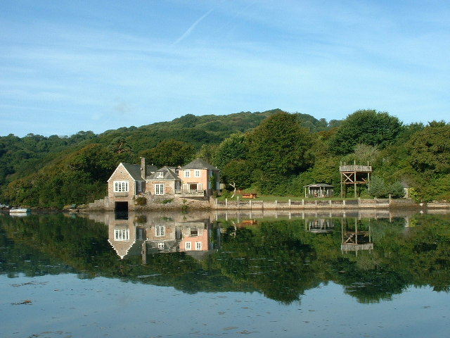 Boathouse at Steer point, Yealm Estuary