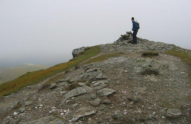 Summit of Stob Binnein