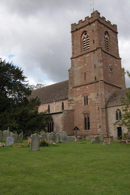 Much Marcle Church