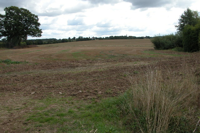 Stubble Field near Kempley
