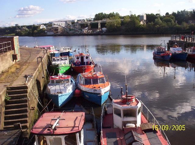 Ouseburn/Tyne Confluence