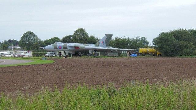 Avro Vulcan XM655  at  Wellesbourne Mountford Airfield