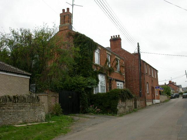 The main street through Twywell